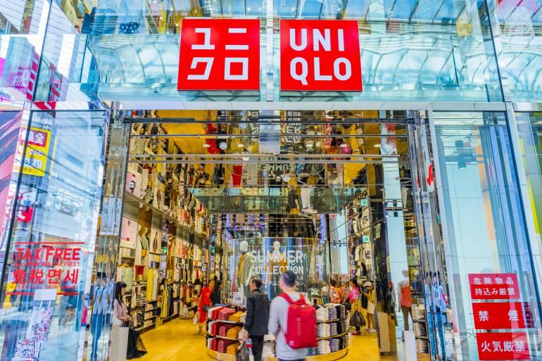 Uniqlo store entrance