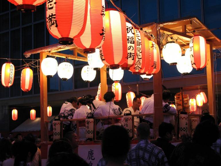 Gujo Odori pic by mookE, used under Creative Commons.
