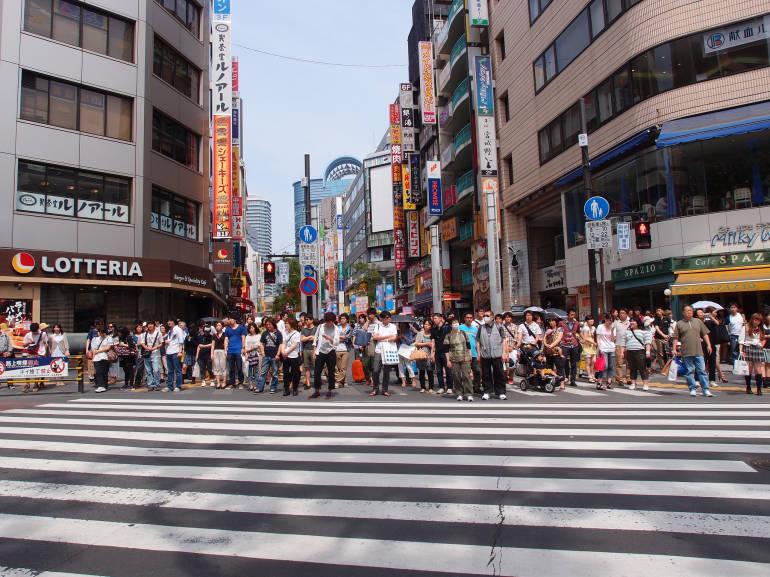 Sales in Tokyo