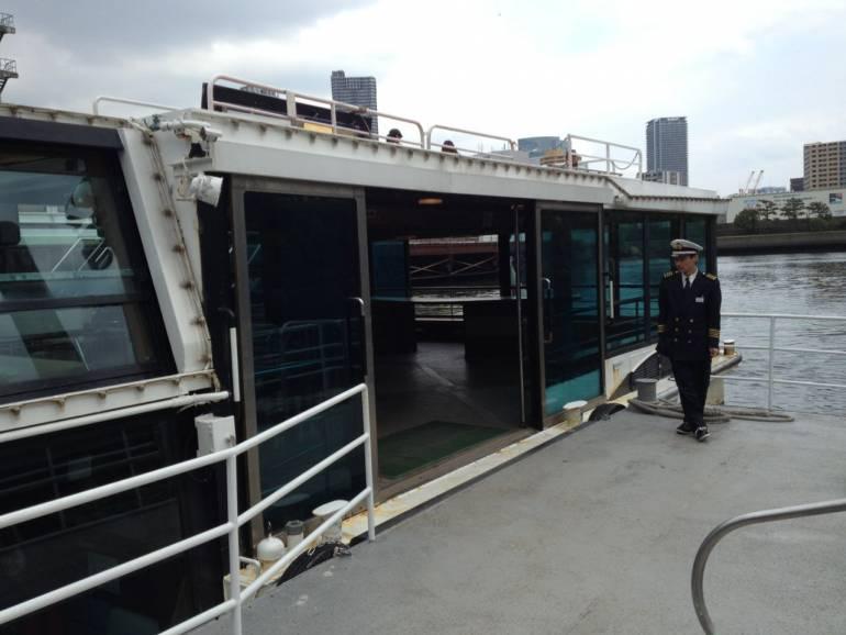 Water Bus Hamarikyu Asakusa