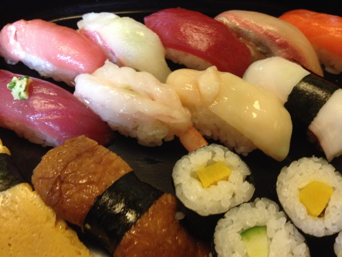 Sushi Katsura - Cheap Sushi Lunch at an Authentic Tsukiji Sushi Bar