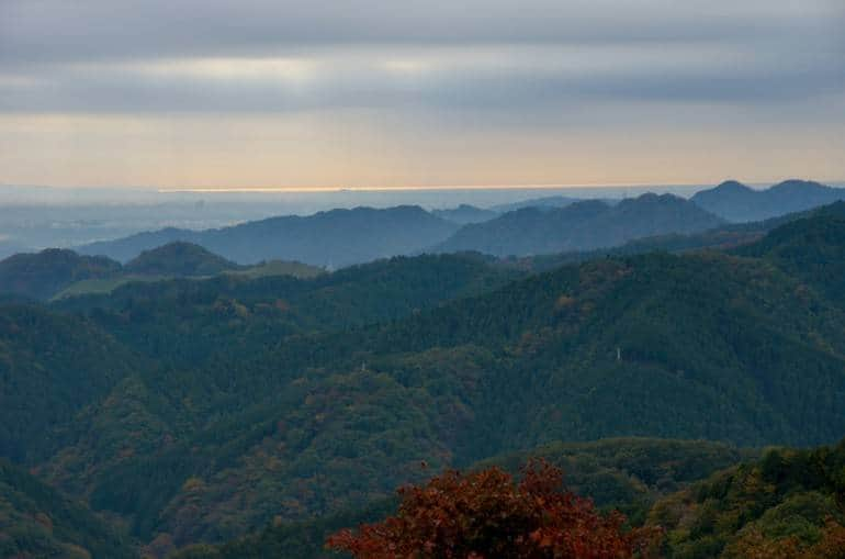 View from Mt Takao by cotaro70s, used under Creative Commons.