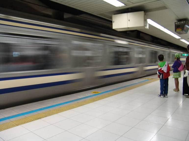 narita to tokyo by train