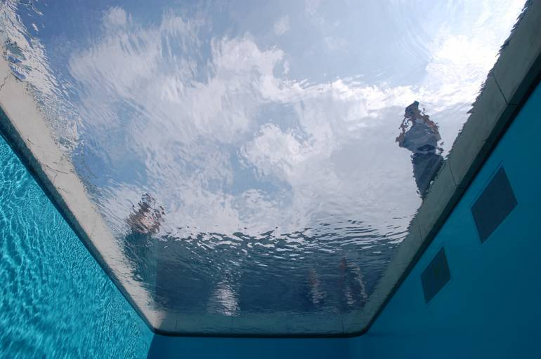 Outdoor park tokyo pool
