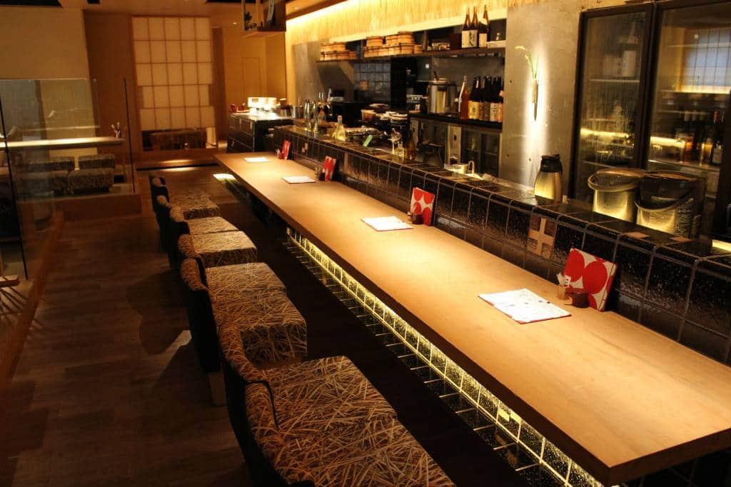 Isshin Restaurant interior