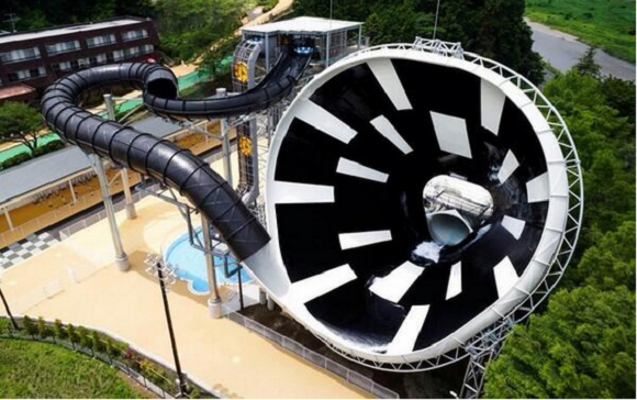 Experience Being Flushed Down the Toilet on a Tokyo Water Slide