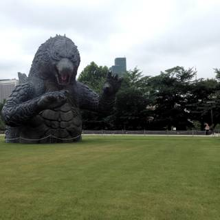Midtown Meets Godzilla