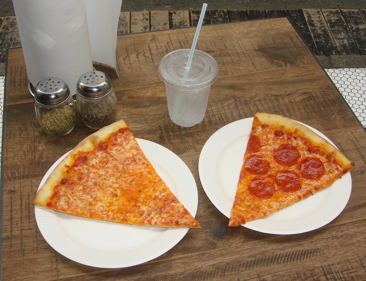 Pizza Slice: Cheap New York Pizza without the 13-Hour Flight