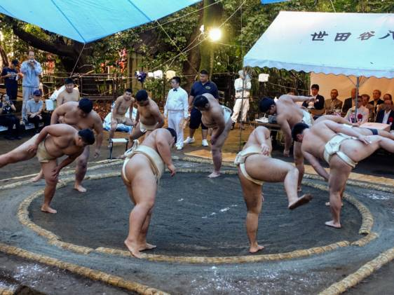 Setagaya Hachimangu Autumn Festival Sumo