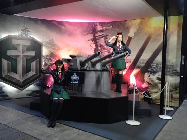 World of Warships - WARGAMING JAPAN booth