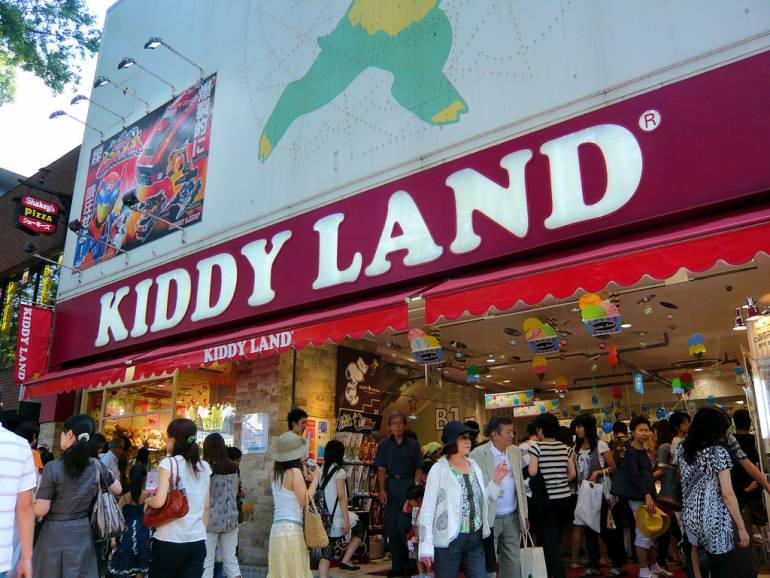 Kiddyland Omotesando storefront