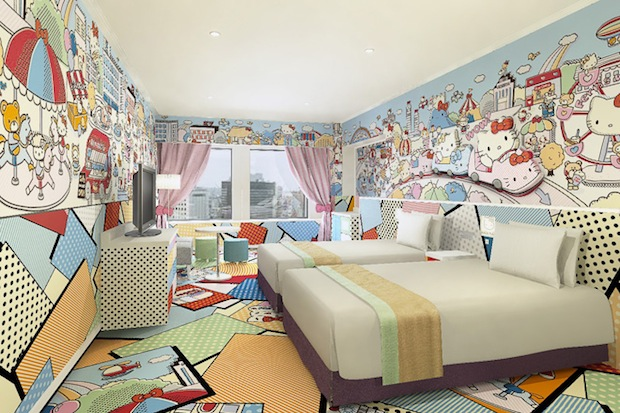 hello kitty hotel