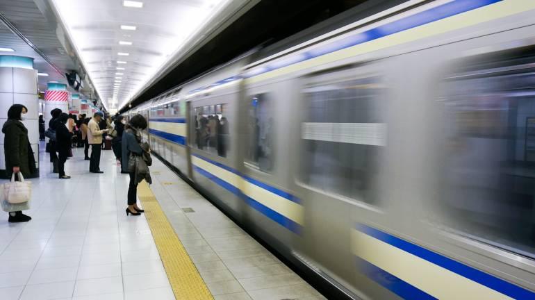 Tokyo trains.