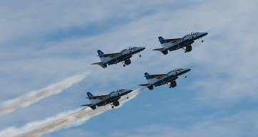 Jet Fly past - Iruma Air Show