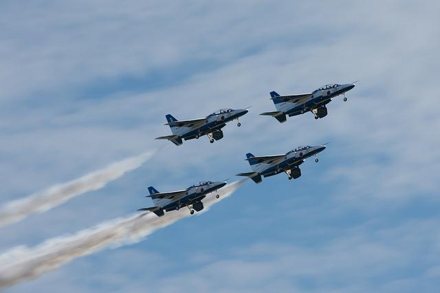 Jet Fly past - Iruma Air Show