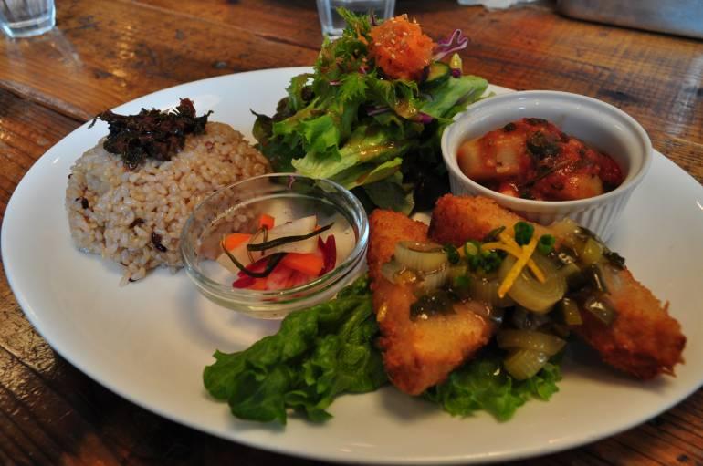 Tokyo for beginners - vegetarian eats in Meguro