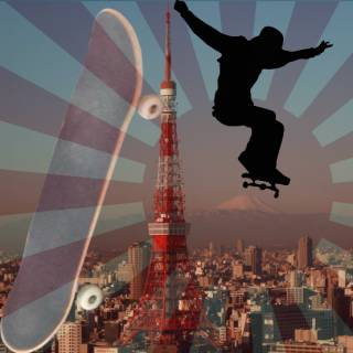 Frugally Skating Tokyo