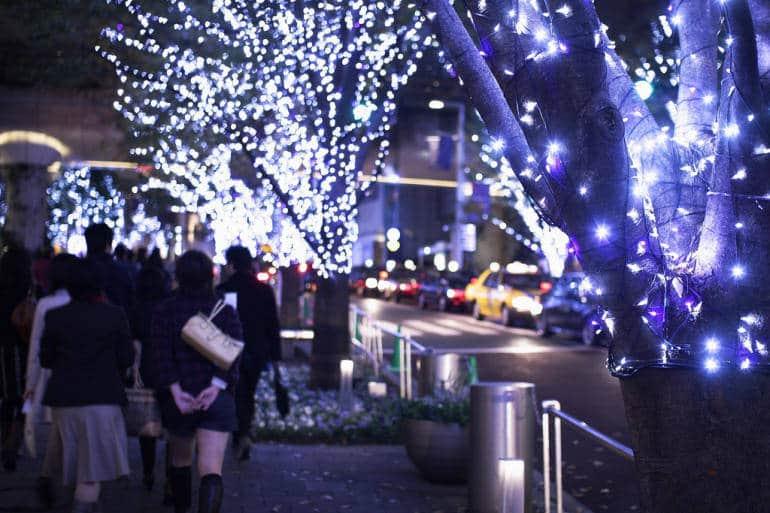 Roppongi Hills Christmas Illumination 2018 7th Nov 25th