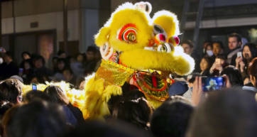 Yokohama Lion Dance Chinatown