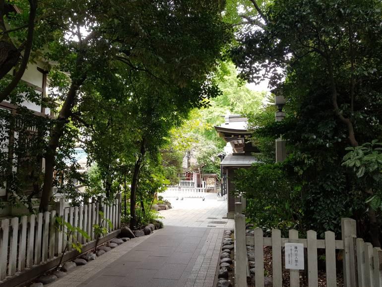 Torikoe Shrine surrounds