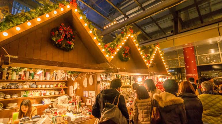 christmas markets in tokyo