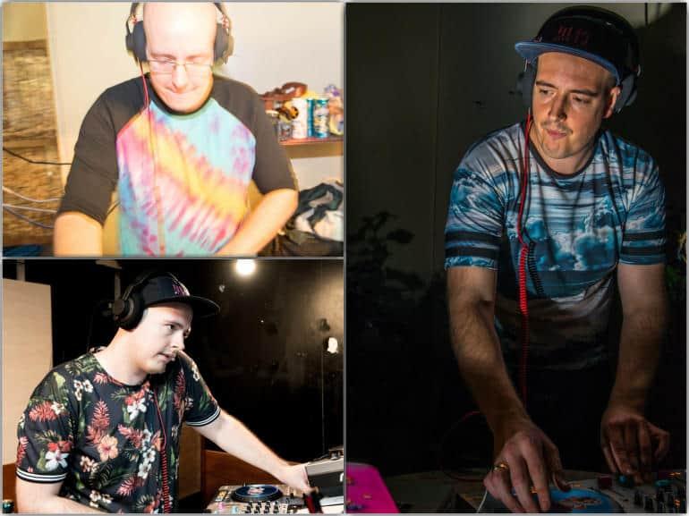 Brat OK 3 picture collage - DJ in Tokyo