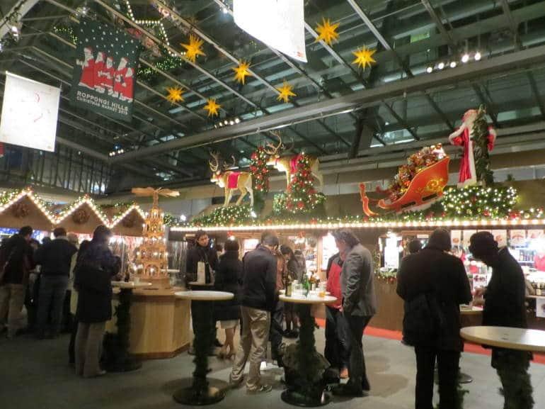 Roppongi Hills Christmas Market in 2013