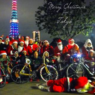 Night Christmas Bike Ride 2014