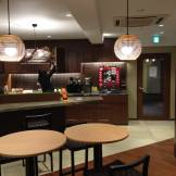 Compass Habitat's shared kitchen