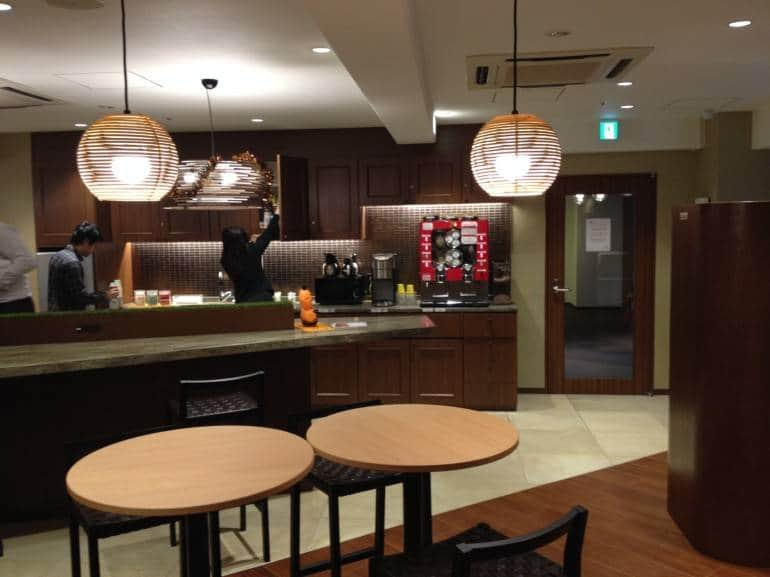 Compass Habitat's shared kitchen - Tokyo Serviced Offices
