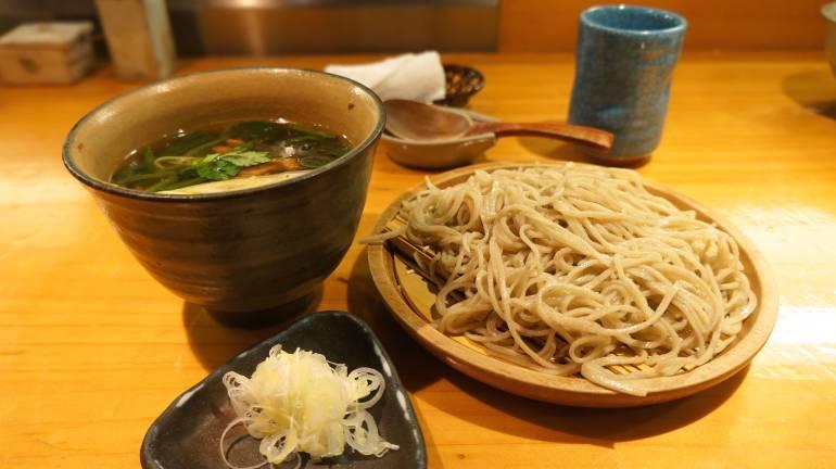 Cheap Michelin Star Soba, Kyourakutei Kamo Zaru