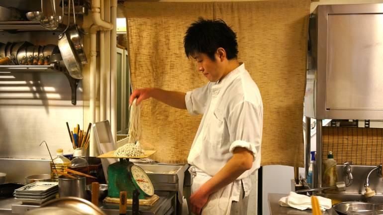 Kyourakutei Soba Chef