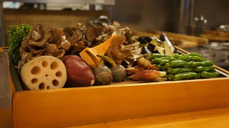 Kyourakutei Vegetables