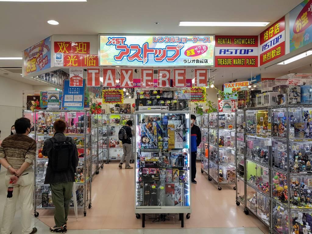 Astop Figures at Radio Kaikan
