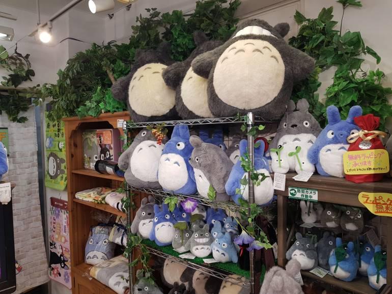 Kotobukiya Totoro corner