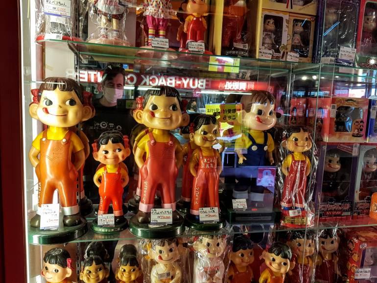 Peko chan figures