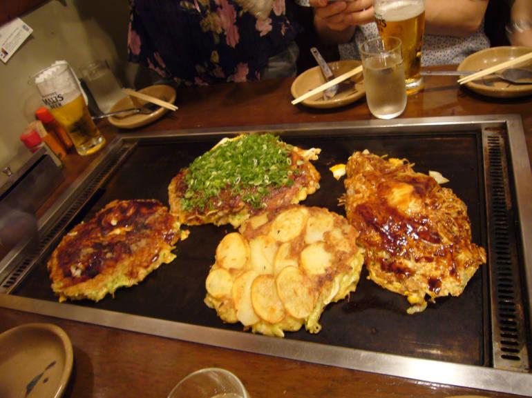 okonomiyaki restaurants in tokyo