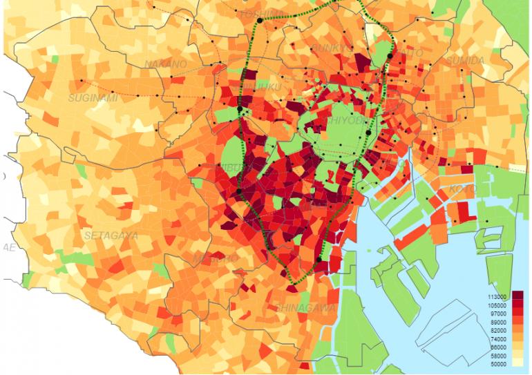 Tokyo Rent Map