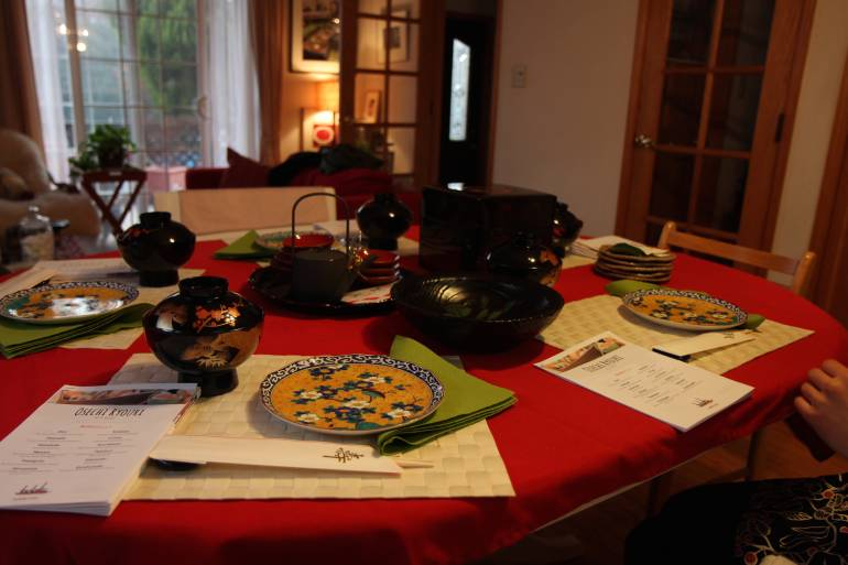 Tadaku osechi: English Cooking Classes Tokyo