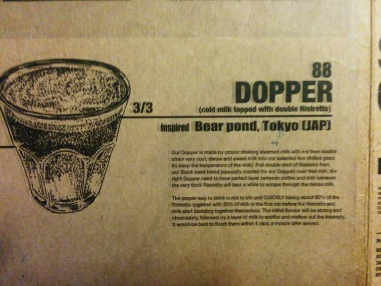 dopper inspired by bear pond espresso