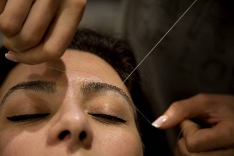 Eyebrow Threading Services and Nail Salons | Tokyo Cheapo ...