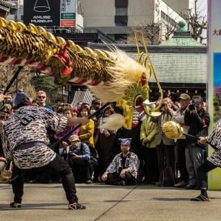 Golden Dragon Dance