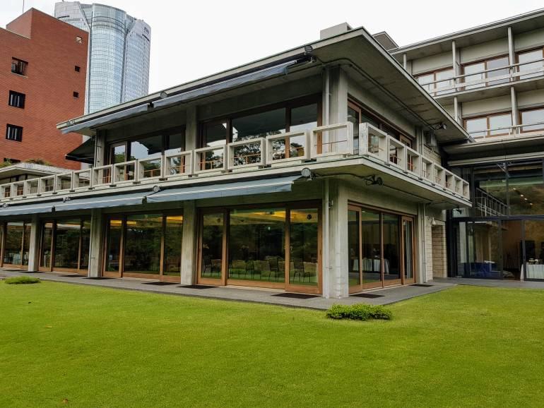 Grass at international House