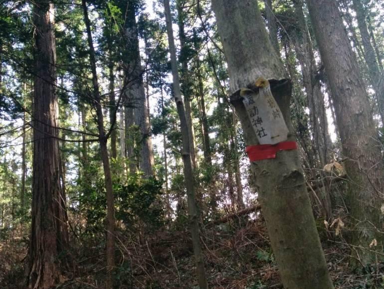 sign to suwa shrine