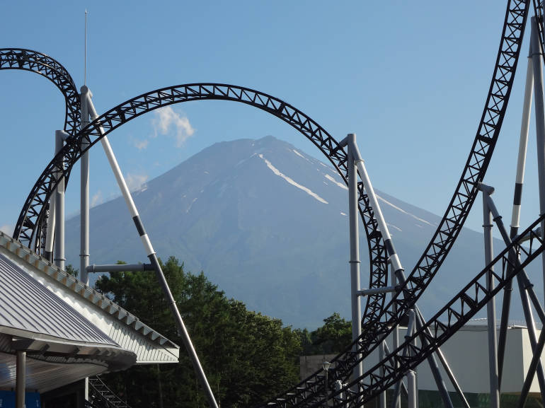 getting to fuji-q highland