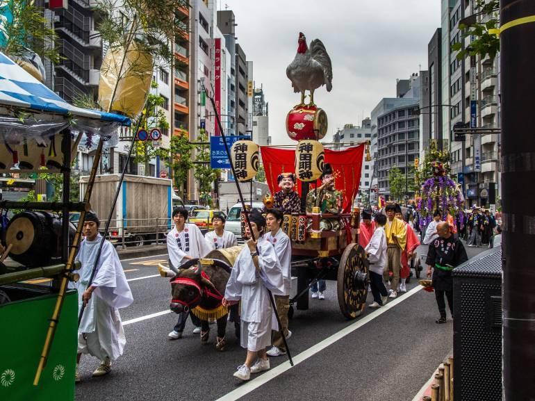 tokyo festivals may matsuri