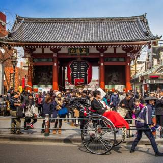 Walking Tour: Meiji Jingu, Senso-ji and Harajuku