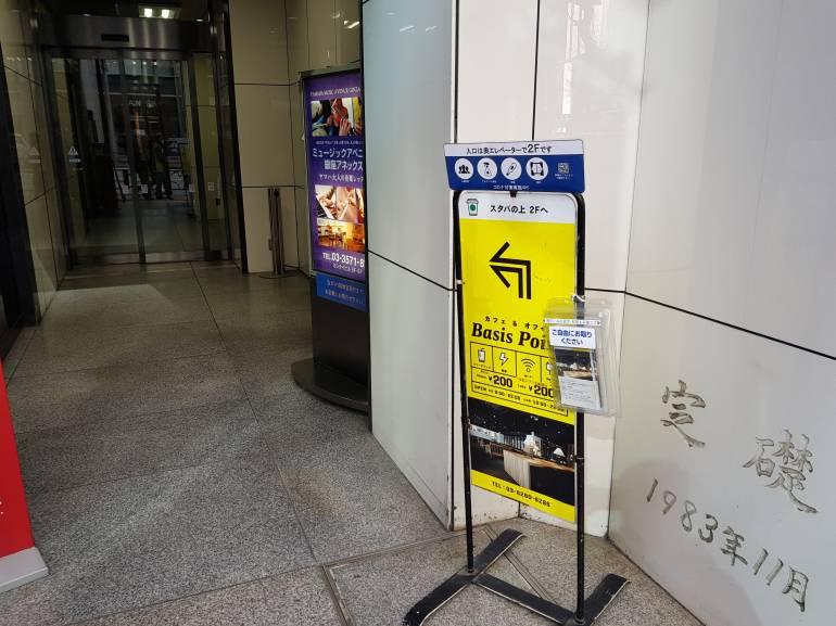 Basis point entrance