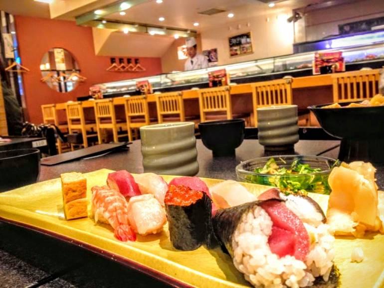 cheap sushi restaurants in tokyo
