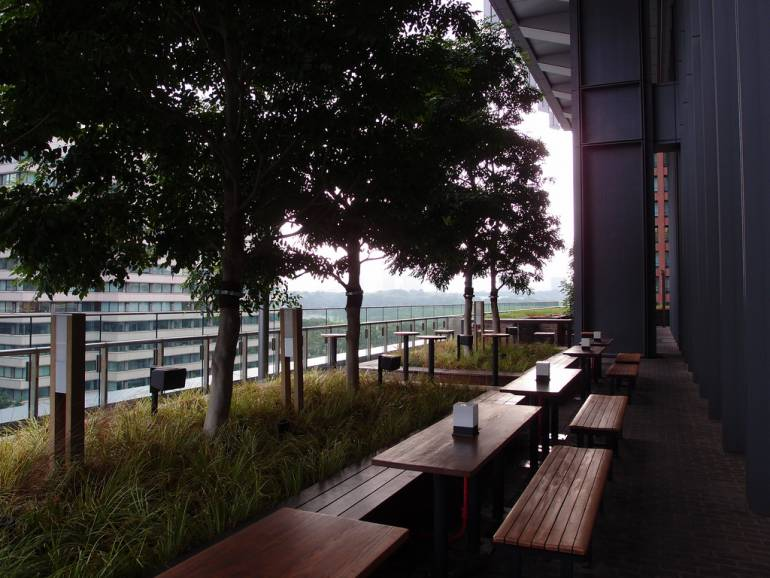 Marunouchi House has one of our favourite terraces in town.